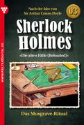Sherlock Holmes 3 - Kriminalroman