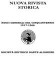 Indici Generali del Cinquantennio 1917 - 1966