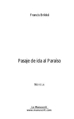 Pasaje de ida al Paraiso