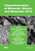 Characterization of Minerals, Metals, and Materials 2016