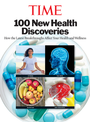 TIME 100 New Health Discoveries: How the Latest Breakthroughs Affect Your Health and Wellness