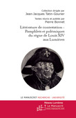 Figures de la littrature de contestation du sicle de Louis XIV au sicle des Lumires