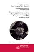 Figures de la littérature de contestation du siècle de Louis XIV au siècle des Lumières