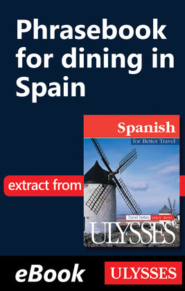 Phrasebook for dining in Spain