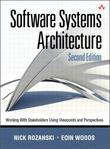 Software Systems Architecture: Working With Stakeholders Using Viewpoints and Perspectives, 2/e