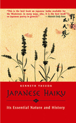 Japanese Haiku: Its Essential Nature and History