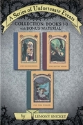 A Series of Unfortunate Events Collection: Books 1-3 with Bonus Material: The Bad Beginning, The Reptile Room, The Wide Window