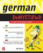 German Demystified : A Self Teaching Guide
