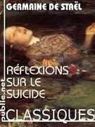 Réflexions sur le suicide
