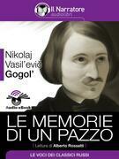 Le memorie di un pazzo (Audio-eBook)