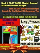 Comic Books For Kids 9-12 - Comic Illustrations - Comic Pictures & Audiobook for Children: Fart Book: 3 In 1 Box Set: Blaster! Boomer! Slammer! + Fart