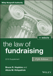 The Law of Fundraising, 2016 Supplement