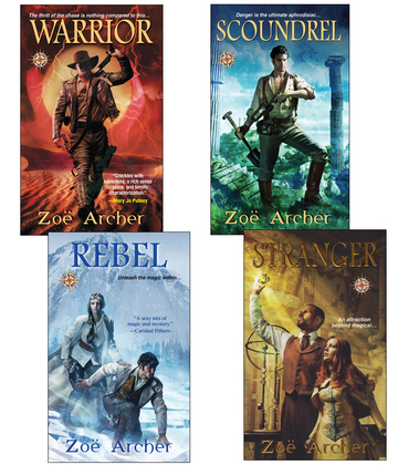 The Blades of the Rose Bundle: Warrior, Scoundrel, Rebel, & Stranger