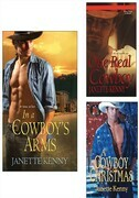 In a Cowboy's Arms Bundle with One Real Cowboy &amp; A Cowboy Christmas
