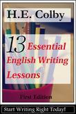 13 Essential English Writing Lessons