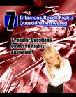 7 Infamous Resell Rights Questions Answered