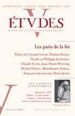 Etudes Janvier 2013