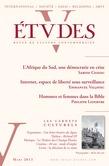Etudes Mars 2013