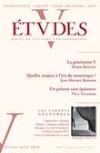 Etudes Juillet-Août 2013
