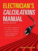 Electrician's Calculations Manual 2nd Edition