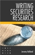 Writing Securities Research: A Best Practice Guide