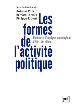 Les formes de l'activité politique