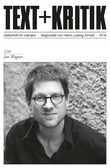 TEXT+KRITIK 210: Jan Wagner
