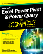 Excel Power Pivot and Power Query For Dummies.