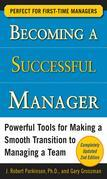 Becoming a Successful Manager, Second Edition