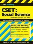 CliffsTestPrep CSET: Social Science: Social Science