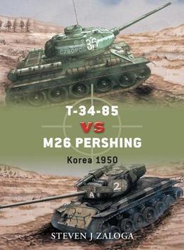 T-34-85 vs M26 Pershing: Korea 1950