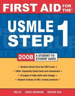 First Aid for the USMLE Step 1 : 2008