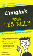 L'Anglais - Guide de conversation Pour les Nuls