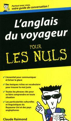 L'Anglais du voyageur - Guide de conversation Pour les Nuls