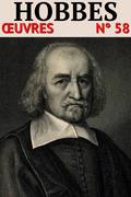 Thomas Hobbes - Oeuvres LCI/58