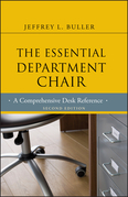 The Essential Department Chair: A Comprehensive Desk Reference