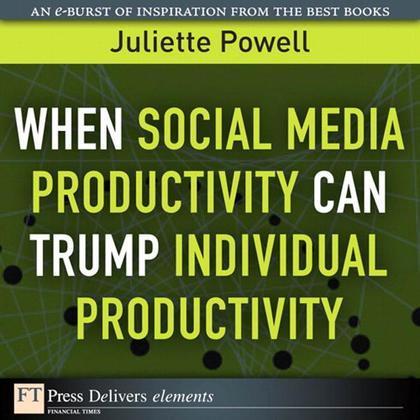 When Social Media Productivity Can Trump Individual Productivity