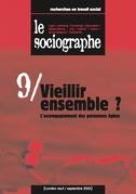 le Sociographe n°9 : Vieillir ensemble ? L'accompagnement des personnes âgées