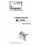 le Sociographe n°19 : Histoire d'écrire (2) : Imprimer du Lien social