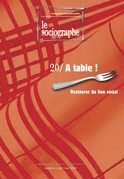 le Sociographe n°20 : À table !