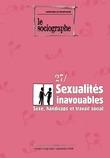 le Sociographe n°27 : Sexualités inavouables