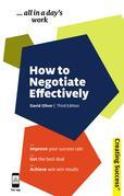 How to Negotiate Effectively - Creating Success Series