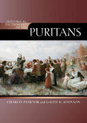Historical Dictionary of the Puritans