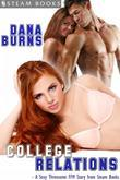 College Relations - A Sexy Threesome FFM Story from Steam Books