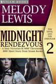 Midnight Rendezvous - A Sexy Victorian Bi MMF Threesome BBW Short Story from Steam Books