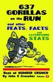 637 Gorillas on the Run and other Feats, Facts and Astonishing Stats: Best of Number Crunch, Volume 2