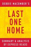 Last One Home by Debbie Macomber | Summary & Analysis