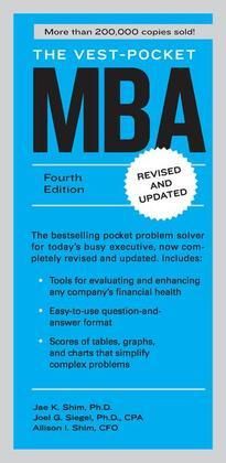 The Vest-Pocket MBA: Fourth Edition