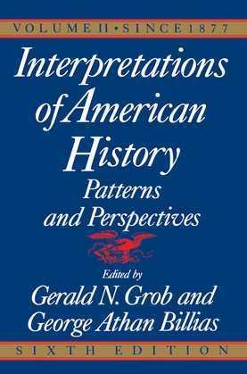 Interpretations of American History, 6th Ed, Vol.