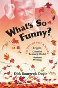 What's So Funny?: Lessons from Canada's Leacock Medal for Humour Writing